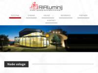 Slika naslovnice sjedišta: Ri-Aluminij (http://www.rialuminij.com)