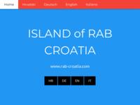 Slika naslovnice sjedišta: Otok Rab Turistički vodič (http://rab-croatia.com)