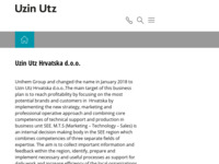 Slika naslovnice sjedišta: Unikem d.o.o. (http://www.unikem.hr)