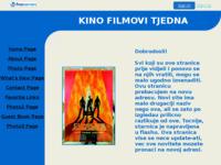 Frontpage screenshot for site: Hrvatska kina (http://hr-kino.freeservers.com)