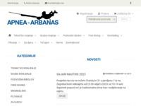 Slika naslovnice sjedišta: Apnea-Arbanas d.o.o. (http://www.apnea-arbanas.hr/)