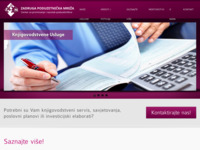 Frontpage screenshot for site: Zadruga Poduzetnička mreža (http://www.zpm.hr/)