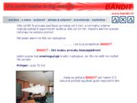 Slika naslovnice sjedišta: Bandit - sustav aktivne zaštite (http://www.bandit.hr/)