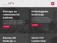 Slika naslovnice sjedišta: Selectio d.o.o. (http://www.selectio.hr/)