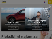 Slika naslovnice sjedišta: Hertz Rent a Car (http://www.hertz.hr/)