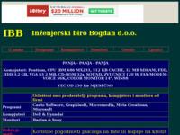 Slika naslovnice sjedišta: IBB d.o.o., Cakovec (http://members.tripod.com/~ibb_ck)