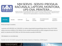 Frontpage screenshot for site: MM servis d.o.o. (http://www.mmservis.hr)