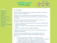 Frontpage screenshot for site: Dječji vrtić Karlovac (http://www.vrtic-karlovac.hr/)