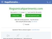 Frontpage screenshot for site: Apartmani Rogoznica (http://www.rogoznicaapartments.com)
