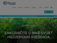 Slika naslovnice sjedišta: Tapess d.o.o. (http://www.tapess.hr/)