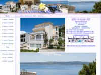 Frontpage screenshot for site: Brela Soline - Vila Antonio (http://www.brela.com/vila-antonio/)