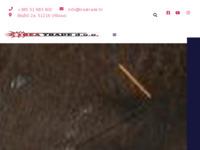 Frontpage screenshot for site: Trea Trade d.o.o. (http://www.treatrade.hr)