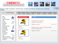Frontpage screenshot for site: Inenco d.o.o. (http://www.inenco.hr/)
