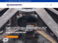 Frontpage screenshot for site: Energoremont Karlovac (http://www.energoremont.hr/)
