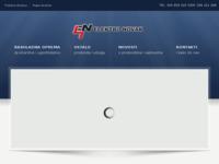 Frontpage screenshot for site: Elektro Novak (http://www.elektronovak.hr/)
