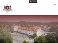 Frontpage screenshot for site: Hotel Frankopan (http://www.hotel-frankopan.hr/)