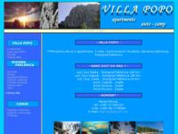 Slika naslovnice sjedišta: Apartmani i autocamp Popo, Starigrad-Paklenica (http://www.villa-popo.com/)