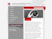 Frontpage screenshot for site: Hrvatska udruga korporativnih rizničara (http://www.treasury.hr/)