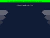 Frontpage screenshot for site: (http://www.croatia-kvarner.com)