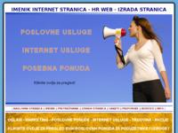 Slika naslovnice sjedišta: Izrada stranica (http://www.izradastranica.info)