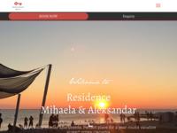 Frontpage screenshot for site: Villa Mihaela, Poreč (http://www.villamihaela.com/)