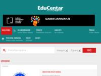 Slika naslovnice sjedišta: EduCentar - Edukacija za Vas (http://www.educentar.net/)