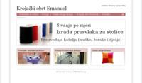 Slika naslovnice sjedišta: Krojački obrt Emanuel (http://www.presvlakenavlake.com/)
