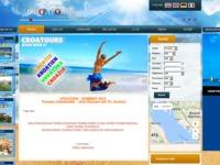 Frontpage screenshot for site: Croatours - Privatni smjestaj (http://www.croatours.hr/)