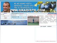 Slika naslovnice sjedišta: Gradište (http://www.gradiste.com)