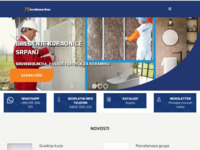 Frontpage screenshot for site: Brodomerkur d.d. (http://www.brodomerkur.hr/)