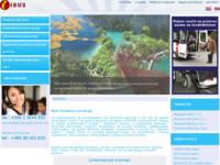 Slika naslovnice sjedišta: Putnička agencija Ibus (http://www.ibus.hr)