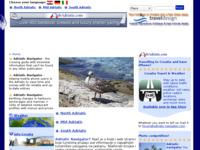 Slika naslovnice sjedišta: Jadranski navigator (http://www.adriatic-navigator.com/)