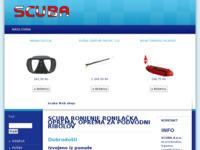 Slika naslovnice sjedišta: Scuba - ronilačka oprema (http://www.scubacro.hr)