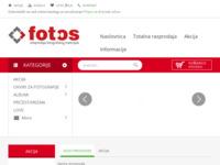 Slika naslovnice sjedišta: FoToS d.o.o. - veleprodaja fotografskog materijala (http://www.fotos.hr/)