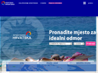 Frontpage screenshot for site: (http://www.apartmani-hrvatska.com)