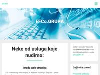 Slika naslovnice sjedišta: Efco, računala, online prodaja (http://www.efco.hr)