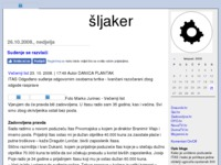 Frontpage screenshot for site: Itas d.d (http://sljaker.blog.hr/)