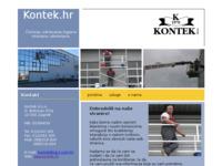 Slika naslovnice sjedišta: Kontek d.o.o. - usluge čišćenja (http://www.kontek.hr)