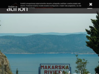Frontpage screenshot for site: ab Adrion, agencija za nekretnine - Makarska, Hrvatska (http://www.ab-adrion.hr/)