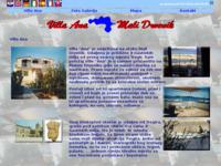 Frontpage screenshot for site: Villa Ana (http://www.villa-ana.com.hr/)