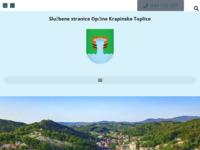 Slika naslovnice sjedišta: Službene stranice općine Krapinske Toplice (http://www.krapinske-toplice.hr)