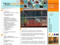 Frontpage screenshot for site: (http://www.trgo-thronos.hr)