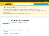 Frontpage screenshot for site: Fortuna nekretnine Split (http://fortuna-nekretnine.hr/)