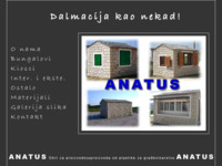 Frontpage screenshot for site: Anatus - Split (http://www.anatus.hr/)