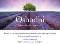 Slika naslovnice sjedišta: Oshadhi (http://www.oshadhi.hr)