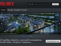 Slika naslovnice sjedišta: Palmex - Poduzeće za vanjsku i unutarnju trgovinu, zastupanje i proizvodnju d.o.o. (http://www.palmex.hr)