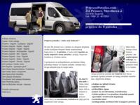 Slika naslovnice sjedišta: Prijevoz putnika (http://www.prijevozputnika.com/)