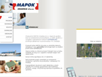 Slika naslovnice sjedišta: Mapok-gradnja d.o.o. (http://www.mapok.hr)