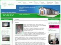 Frontpage screenshot for site: Nekretnine Kroflin d.o.o. (http://www.nekro.hr/)