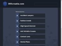 Frontpage screenshot for site: 385croatia.com - privatni smještaj u Hrvatskoj (http://www.385croatia.com/)